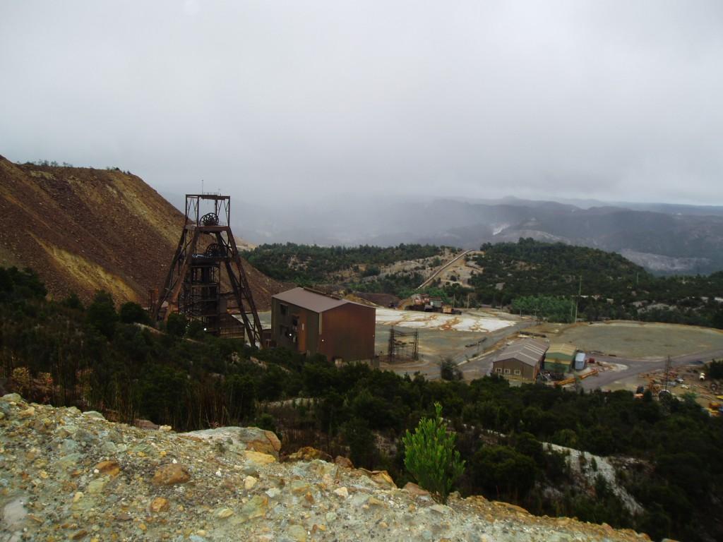 Queenstown copper mine